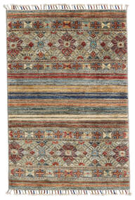 Sharbargan Rug 79X112 Authentic  Modern Handknotted Light Grey/Light Brown (Wool, Afghanistan)