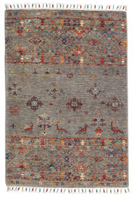 Sharbargan Rug 81X117 Authentic  Modern Handknotted Light Grey/Dark Grey (Wool, Afghanistan)