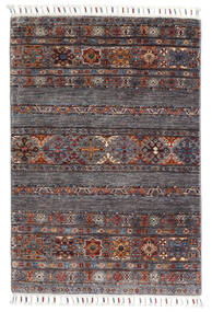 Sharbargan Rug 82X119 Authentic  Modern Handknotted Dark Brown/Dark Grey (Wool, Afghanistan)