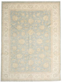 Ziegler Ariana Rug 264X355 Authentic  Oriental Handknotted Light Grey/Dark Beige/Beige Large (Wool, Afghanistan)