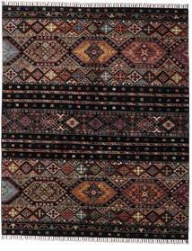 Shabargan Rug 156X190 Authentic  Modern Handknotted Dark Brown/Dark Grey (Wool, Afghanistan)