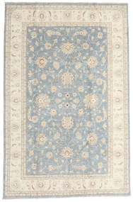 Ziegler Ariana Rug 194X296 Authentic  Oriental Handknotted Light Grey/Beige (Wool, Afghanistan)