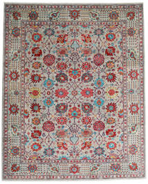 Mirage Rug 243X300 Authentic  Modern Handknotted Light Grey/Dark Red (Wool, Afghanistan)