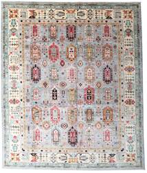 Mirage Rug 260X311 Authentic  Modern Handknotted Light Grey/Light Pink Large (Wool, Afghanistan)