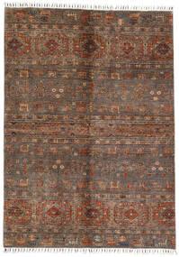 Shabargan Rug 167X231 Authentic  Modern Handknotted Dark Brown/Brown (Wool, Afghanistan)