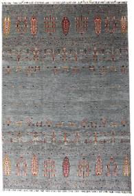 Shabargan Rug 207X303 Authentic  Modern Handknotted Dark Grey/Blue (Wool, Afghanistan)