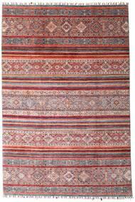 Shabargan Rug 199X298 Authentic  Modern Handknotted Dark Red/Light Purple (Wool, Afghanistan)