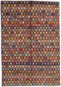 Moroccan Berber - Afghanistan Rug 171X249 Authentic  Modern Handknotted Dark Brown/Light Brown (Wool, Afghanistan)