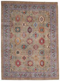Kazak Rug 296X403 Authentic  Oriental Handknotted Light Grey/Dark Brown Large (Wool, Afghanistan)