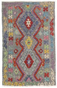 Kilim Afghan Old Style Rug 96X149 Authentic  Oriental Handwoven Dark Grey/Light Grey (Wool, Afghanistan)