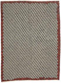 Kilim Modern Rug 213X287 Authentic  Modern Handwoven Beige/Black (Wool, Afghanistan)
