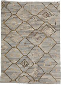 Kilim Ariana Rug 212X285 Authentic  Modern Handwoven Light Grey/Light Brown (Wool, Afghanistan)