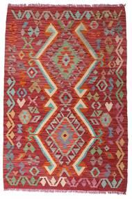 Kilim Afghan Old Style Rug 102X153 Authentic  Oriental Handwoven Dark Red (Wool, Afghanistan)