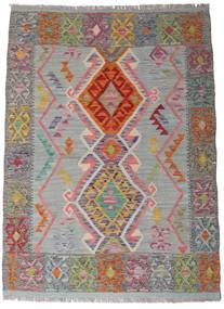 Kilim Afghan Old Style Rug 105X144 Authentic  Oriental Handwoven Dark Grey/Light Grey (Wool, Afghanistan)