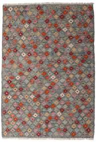 Kilim Afghan Old Style Rug 107X155 Authentic  Oriental Handwoven Dark Grey/Light Grey (Wool, Afghanistan)