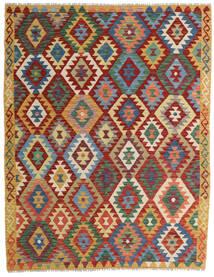 Kilim Afghan Old Style Rug 155X200 Authentic  Oriental Handwoven Dark Red/Blue (Wool, Afghanistan)