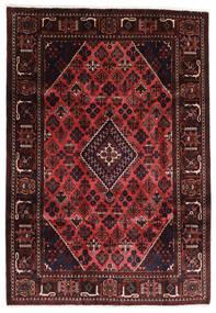 Joshaghan Rug 203X291 Authentic  Oriental Handknotted Dark Red/Dark Brown (Wool, Persia/Iran)