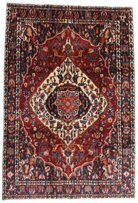 Bakhtiari Rug 207X300 Authentic  Oriental Handknotted Dark Red/Black (Wool, Persia/Iran)