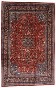 Mahal Rug 207X317 Authentic  Oriental Handknotted Dark Red/Black (Wool, Persia/Iran)