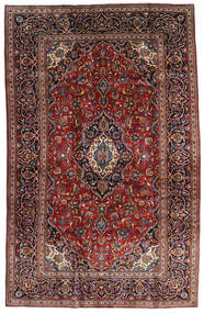 Keshan Rug 205X320 Authentic  Oriental Handknotted Dark Red/Dark Brown (Wool, Persia/Iran)