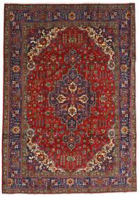 Tabriz Rug 240X333 Authentic  Oriental Handknotted Dark Red/Dark Grey (Wool, Persia/Iran)