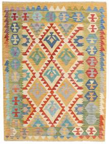 Kilim Afghan Old Style Rug 153X202 Authentic  Oriental Handwoven Dark Beige/Light Brown (Wool, Afghanistan)