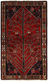 Qashqai Rug 120X197 Authentic  Oriental Handknotted Dark Red/Light Brown (Wool, Persia/Iran)