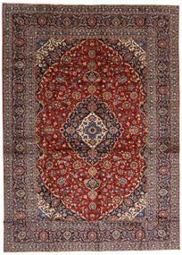 Keshan Rug 284X397 Authentic  Oriental Handknotted Dark Red/Dark Brown Large (Wool, Persia/Iran)