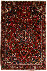 Bakhtiari Rug 207X308 Authentic  Oriental Handknotted Dark Red (Wool, Persia/Iran)