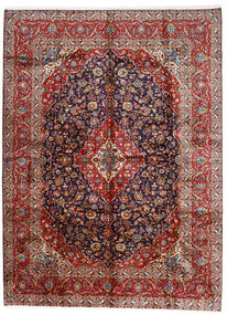 Keshan Rug 296X400 Authentic  Oriental Handknotted Dark Red/Dark Purple Large (Wool, Persia/Iran)