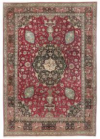 Tabriz 50 Raj Rug 242X325 Authentic  Oriental Handknotted Light Grey/Dark Red (Wool, Persia/Iran)