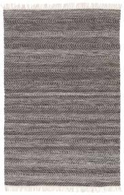 Chinara - Black/White Rug 200X300 Authentic  Modern Handwoven Light Grey/Dark Grey (Wool, India)