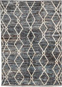 Moroccan Berber - Afghanistan Rug 171X240 Authentic  Modern Handknotted Dark Grey/Black (Wool, Afghanistan)
