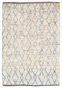 Moroccan Berber - Afghanistan Rug 172X240 Authentic  Modern Handknotted Beige/Light Grey (Wool, Afghanistan)