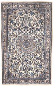 Nain Rug 151X255 Authentic  Oriental Handknotted Dark Grey/Beige (Wool, Persia/Iran)