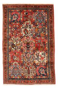 Bakhtiari Collectible Rug 98X150 Authentic  Oriental Handknotted Dark Brown/Dark Red (Wool, Persia/Iran)