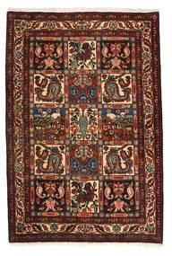 Bakhtiari Collectible Rug 105X158 Authentic  Oriental Handknotted Dark Brown/Dark Red (Wool, Persia/Iran)