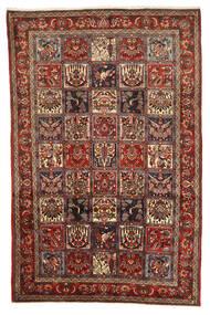 Bakhtiari Collectible Rug 208X317 Authentic  Oriental Handknotted Dark Red/Dark Brown (Wool, Persia/Iran)