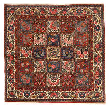 Bakhtiari Collectible Rug 206X214 Authentic  Oriental Handknotted Square Dark Brown/Dark Red (Wool, Persia/Iran)