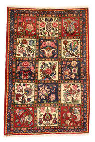 Bakhtiari Collectible Rug 105X156 Authentic  Oriental Handknotted Dark Brown/Dark Red (Wool, Persia/Iran)