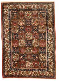 Bakhtiari Collectible Rug 206X290 Authentic  Oriental Handknotted Dark Brown/Crimson Red (Wool, Persia/Iran)