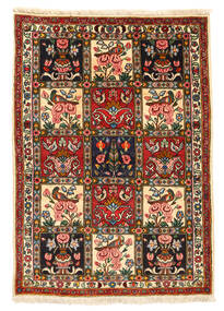 Bakhtiari Collectible Rug 107X151 Authentic  Oriental Handknotted Black/Beige (Wool, Persia/Iran)