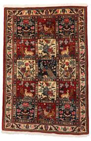 Bakhtiari Collectible Rug 106X152 Authentic  Oriental Handknotted Dark Brown/Dark Red (Wool, Persia/Iran)