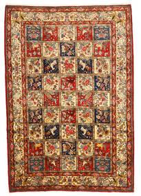 Bakhtiari Collectible Rug 216X316 Authentic  Oriental Handknotted Dark Brown/Dark Red (Wool, Persia/Iran)