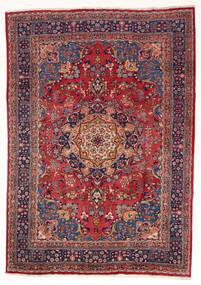 Mashad Rug 197X280 Authentic  Oriental Handknotted Dark Red/Dark Purple (Wool, Persia/Iran)