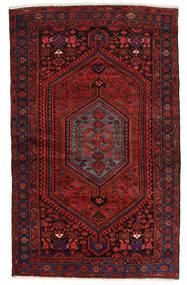 Zanjan Rug 139X224 Authentic Oriental Handknotted Dark Red (Wool, Persia/Iran)