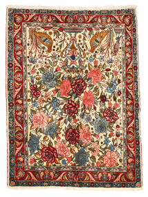 Bakhtiari Collectible Rug 101X148 Authentic  Oriental Handknotted Dark Grey/Crimson Red (Wool, Persia/Iran)