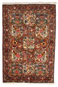 Bakhtiari Collectible Rug 102X151 Authentic Oriental Handknotted Dark Brown/Dark Red (Wool, Persia/Iran)