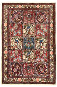 Bakhtiari Collectible Rug 106X158 Authentic  Oriental Handknotted Dark Brown/Dark Red (Wool, Persia/Iran)