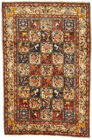 Bakhtiari Collectible Rug 209X313 Authentic  Oriental Handknotted Brown/Dark Brown (Wool, Persia/Iran)